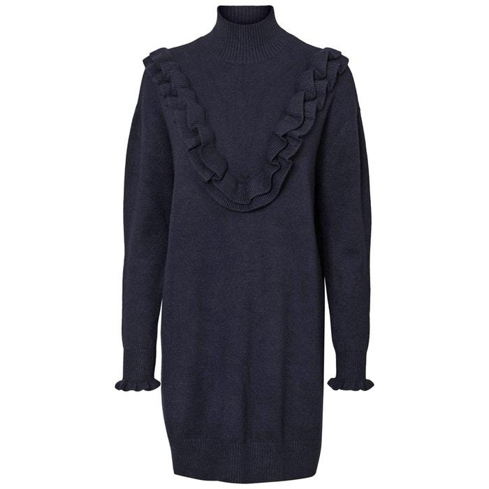 High Neck Jumper/Sweater Dress with Ruffles  VERO MODA image 0