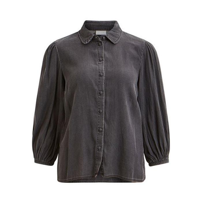 Camicia in lyocell, colletto, maniche a palloncino  VILA image 0