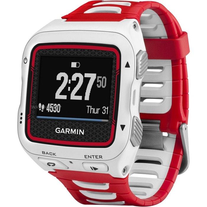 Montre gps garmin forerunner 920xt blanc et rouge blanc Garmin | La Redoute commercialisable qnvrZeh