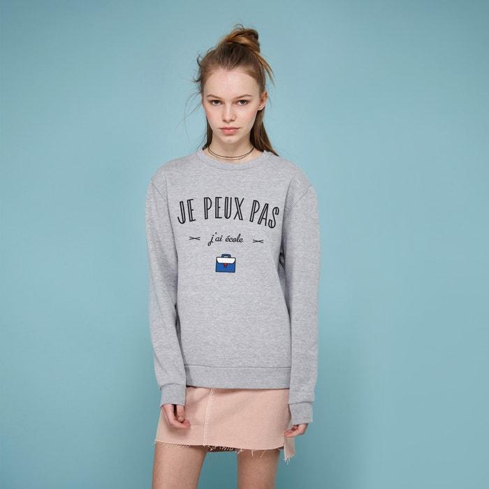 """""""Je Peux Pas J'ai Ecole"""" Sweatshirt  RAD image 0"""
