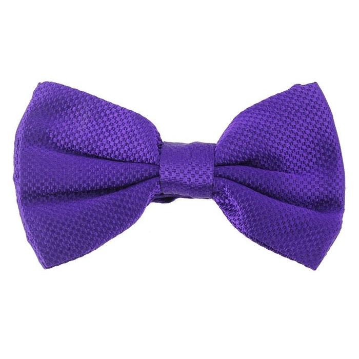 Noeud papillon noué segni & disegni, soie violet violet Segni Et Disegni | La Redoute