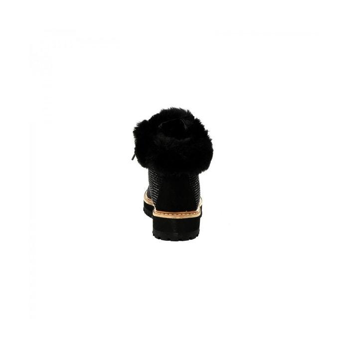 Bottine premium ninon noir Cassis Cote Dazur