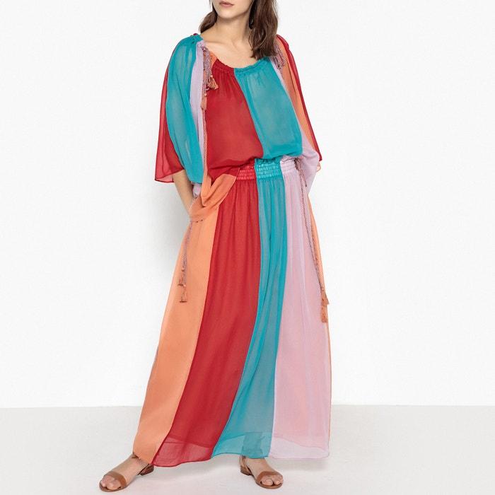 Jeu Obtenir Authentique Haute Qualité Antik Batik Jupe longue rayée en voile ANAIS Pas Cher 2018 Nouvelle 1m2pVE