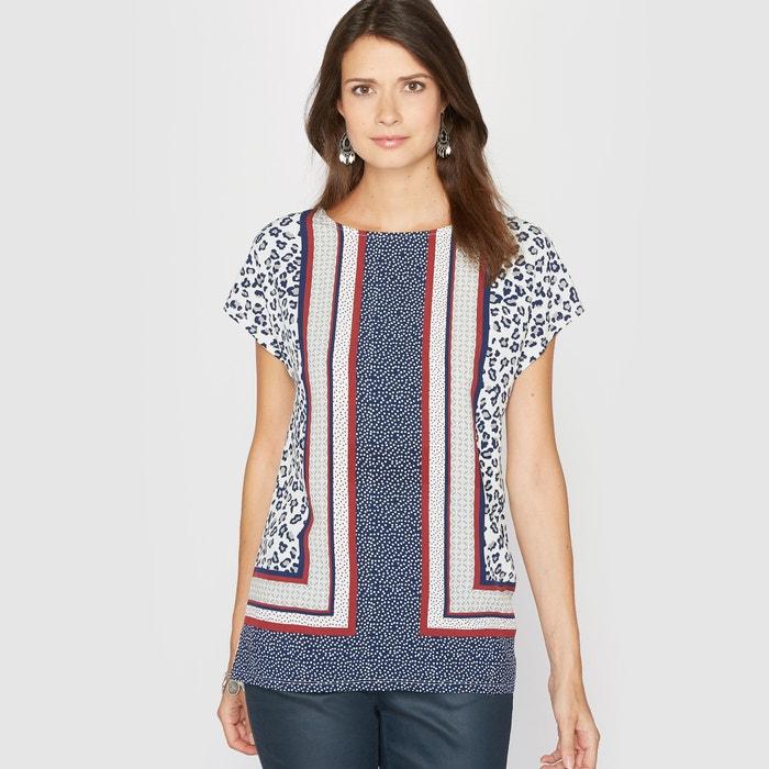 Image T-shirt fantasia, due tessuti ANNE WEYBURN