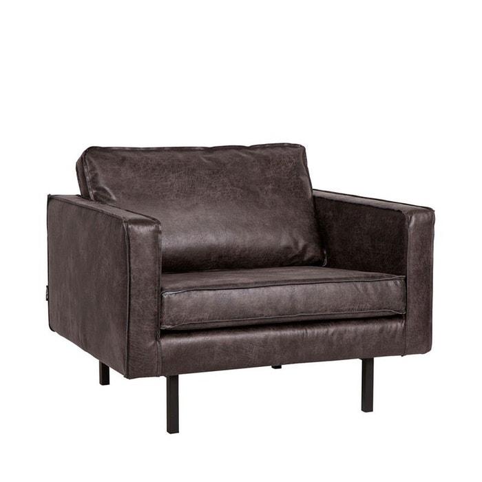 fauteuil vintage bronco noir drawer la redoute. Black Bedroom Furniture Sets. Home Design Ideas