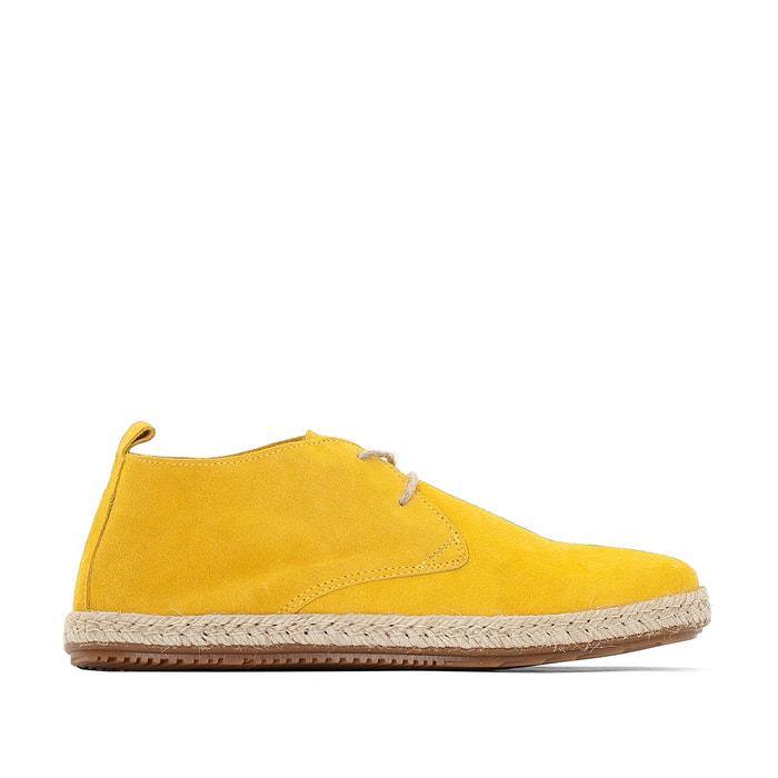 Espadrille style brogues yellow bensimon la redoute - La redoute bensimon meubles ...
