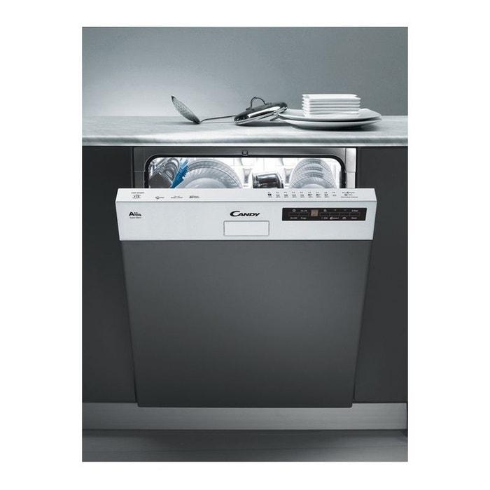 lave vaisselle encastrable candy cds2d35w blanc candy la redoute. Black Bedroom Furniture Sets. Home Design Ideas