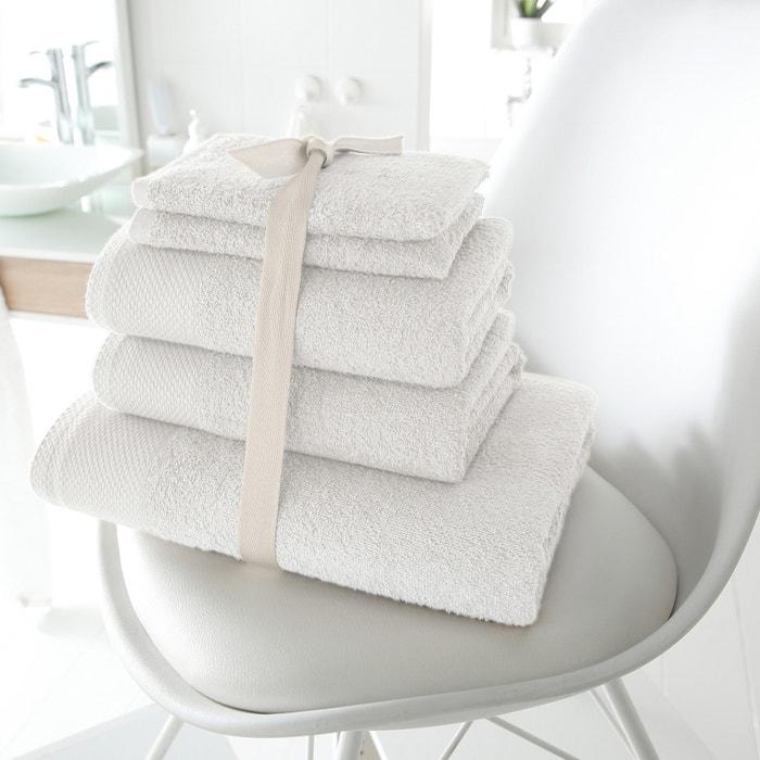 Image Lot de 1 drap de bain + 2 serviettes + 2 gants, 420g/m2 SCENARIO