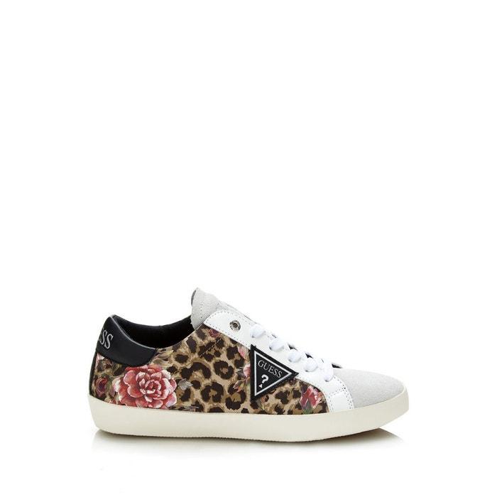 Sneaker vega animalier léopard Guess