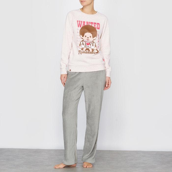Pijama de mangas compridas Monchhichi MONCHHICHI