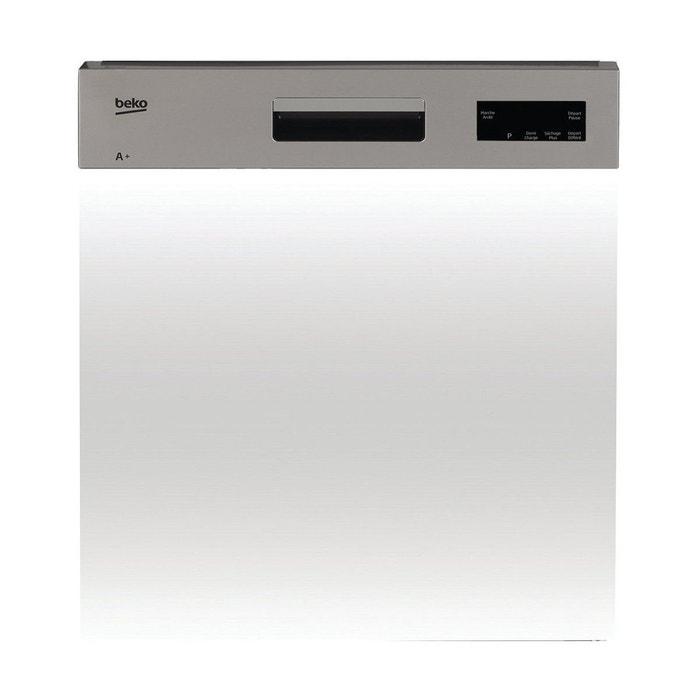 lave vaisselle encastrable beko pdsn15310x bandeau inox beko la redoute. Black Bedroom Furniture Sets. Home Design Ideas