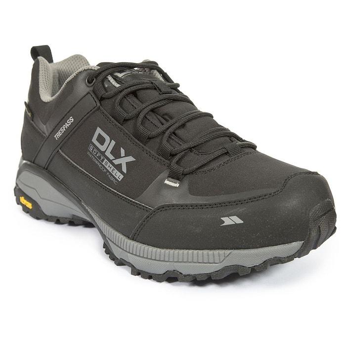 Magellan - dlx chaussures de randonnée marche - homme noir Trespass   La  Redoute 757acdd136ec