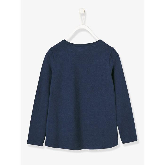 8dae3da0fa0e T-shirt fille imprimé irisé Vertbaudet