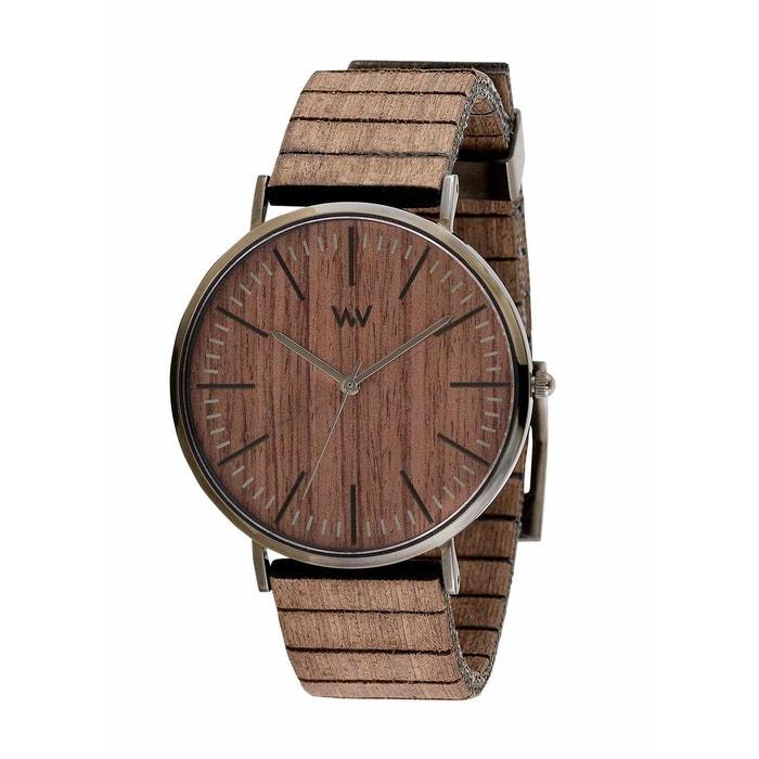 Montre en bois mixte 'horizon nut gun oak' 100% D'origine À Vendre TBO68