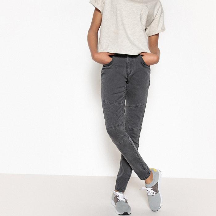 Jeans skinny stile biker 10 - 16 anni  La Redoute Collections image 0