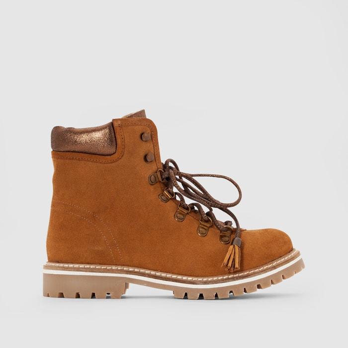 Boots pelle con lacci Montagne  LES TROPEZIENNES PAR M.BELARBI image 0
