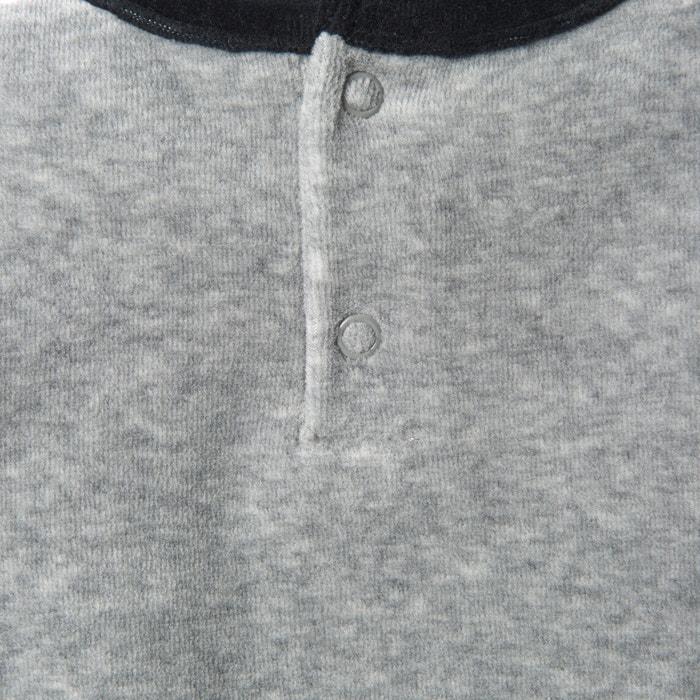 afbeelding 2-delige pyjama in fluweel (set van 2) La Redoute Collections