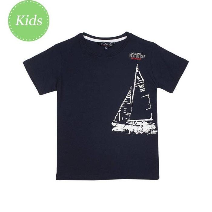 0214879e70121 Vent du cap - t-shirt garçon 10-16 ans ecadrio-marine-14ans marine Vent Du  Cap | La Redoute