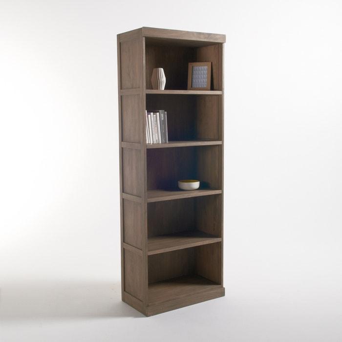 Biblioth que 5 niches lunja cir naturel la redoute interieurs la redoute - La redoute bibliotheque ...