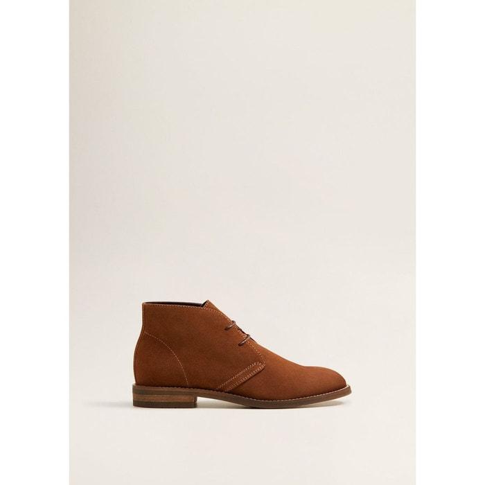 crote Desert MAN MANGO cuir de boots wgTwUqB