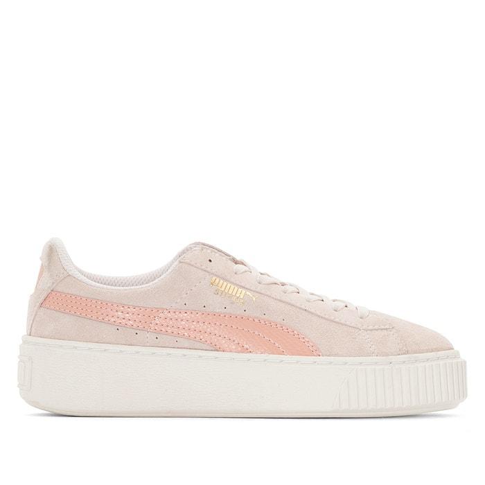 Snk Sneakers Jr Roze Met PumaLa Sleehak Redoute Platform Suede erCxWodB