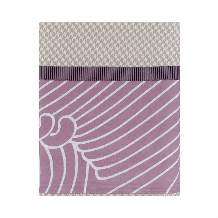 drap plat zahara en satin de coton lin lin essix la redoute. Black Bedroom Furniture Sets. Home Design Ideas