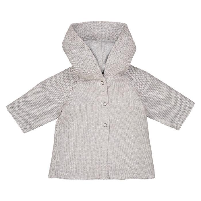 Chaqueta de punto tricot con capucha, 0 meses - 3 años  La Redoute Collections image 0