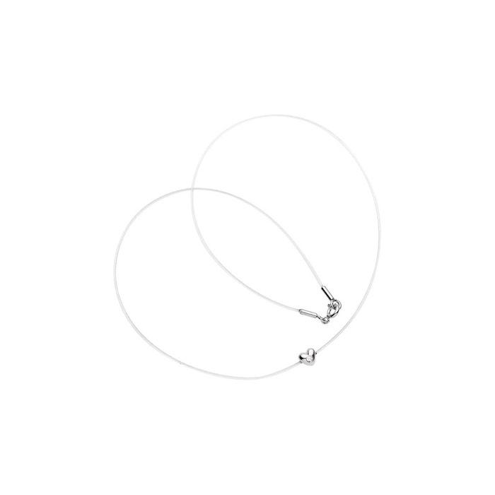 Vente Nice Collier lien nylon transparent orné d'un coeur serti clos avec un véritable diamant transparant Nova Diamonds | La Redoute Sites À Bas Prix Confortable À Vendre Acheter Pas Cher Faire Acheter SCq817