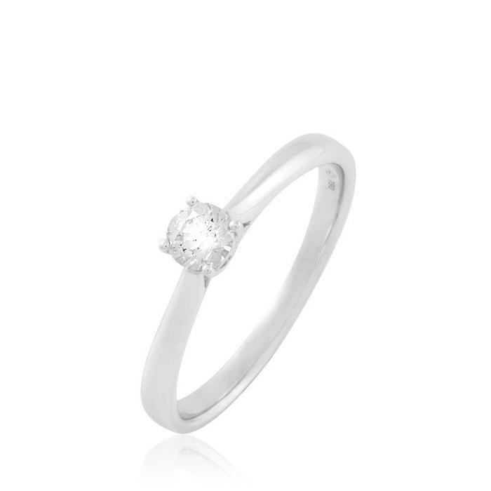 Solitaire or et diamants blanc Histoire D'or | La Redoute confortable 5ciZh