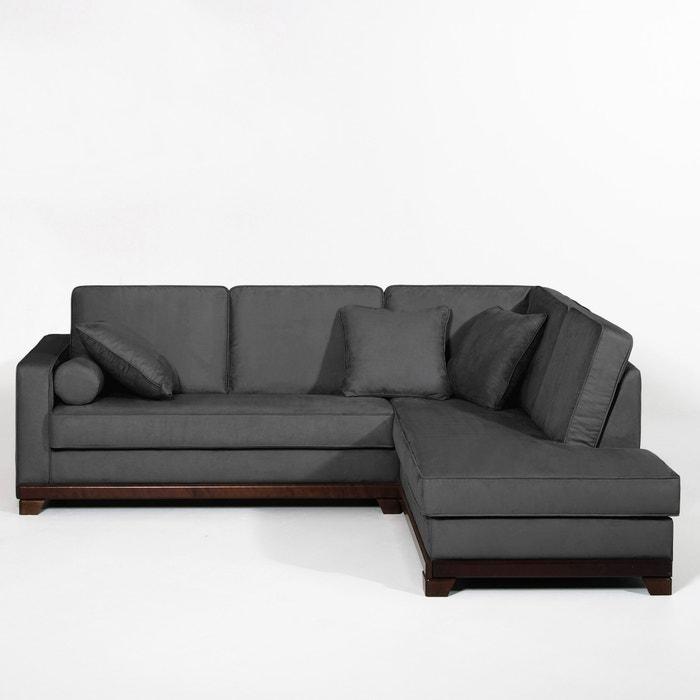 Image Canapé d'angle, fixe, confort excellence, microfibre, Edwin La Redoute Interieurs