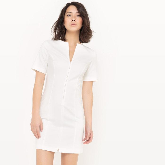 Imagen de Vestido con corte en A y escote con cremallera R essentiel
