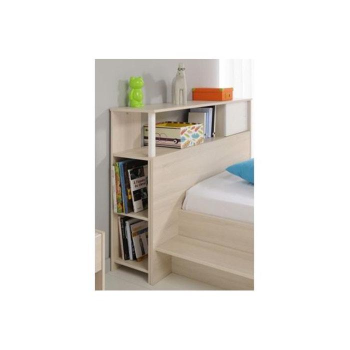 t te de lit pour chambre enfant acacia clair nolan marron. Black Bedroom Furniture Sets. Home Design Ideas