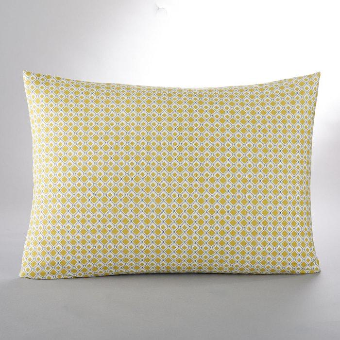 housse d 39 oreiller ou de coussin mashita jaune la redoute. Black Bedroom Furniture Sets. Home Design Ideas