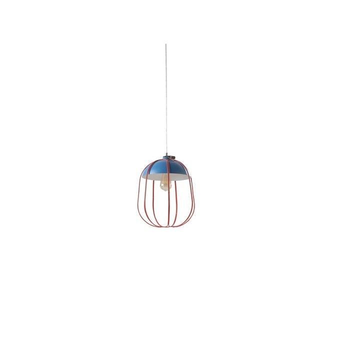 luminaire suspension bleu orange herdasa la redoute. Black Bedroom Furniture Sets. Home Design Ideas