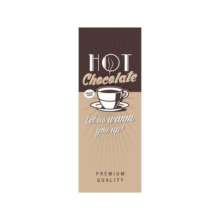 papier peint l unique vintage hot chocolate lgd01 la redoute. Black Bedroom Furniture Sets. Home Design Ideas
