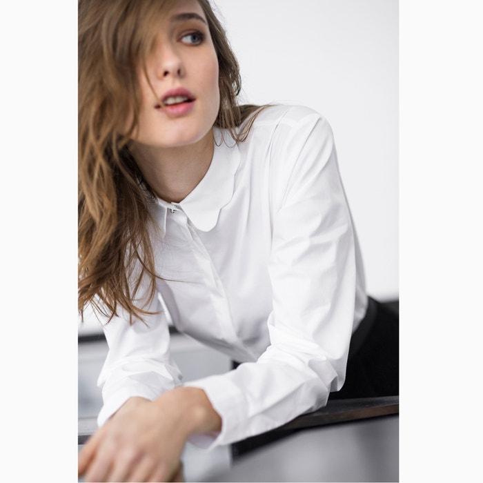R bonito Camisa cuello 243;n MADEMOISELLE de algod de detalle 84dWqdg