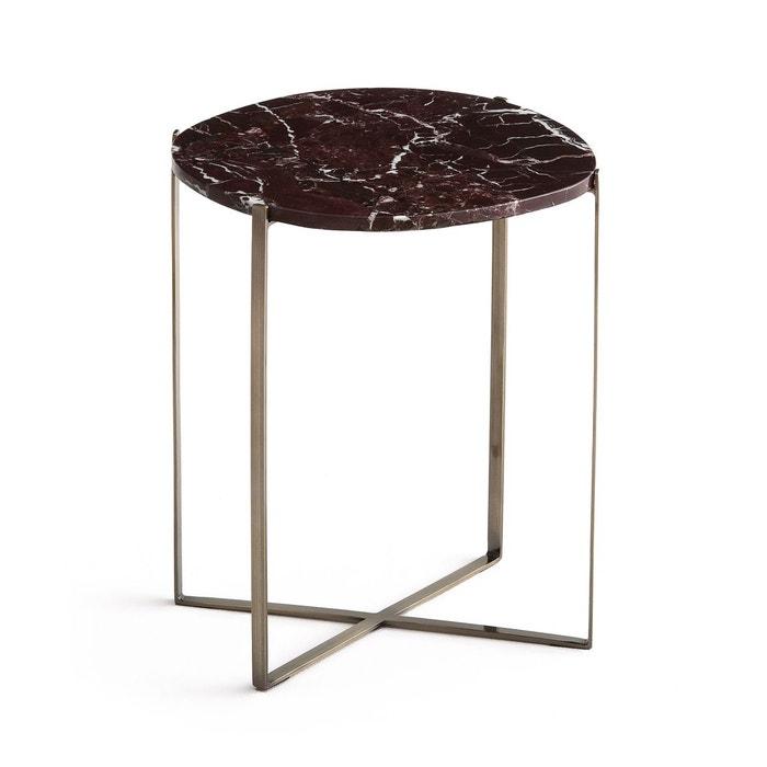bout de canap organique marbre arambol am pm la redoute. Black Bedroom Furniture Sets. Home Design Ideas