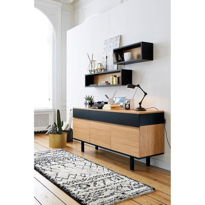 Buffet bicolore biface la redoute interieurs la redoute - La redoute meuble a chaussure ...