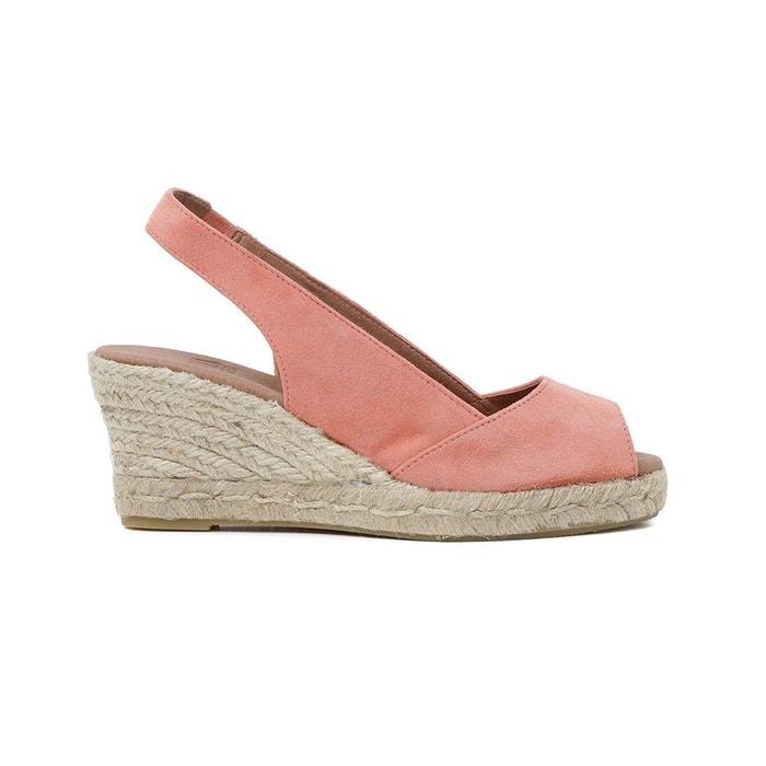 Sandale agnes corail Polka Shoes Fiable À Vendre 8zZlw