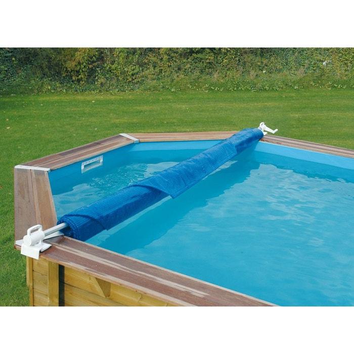 enrouleur de b che amovible pour piscine hors sol bois. Black Bedroom Furniture Sets. Home Design Ideas
