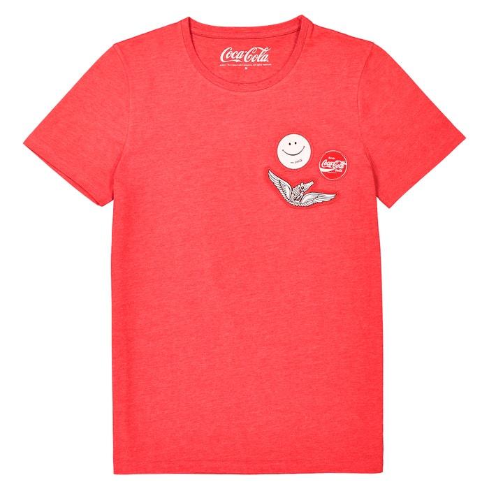T-shirt con scollo rotondo fantasia, maniche corte  COCA COLA image 0