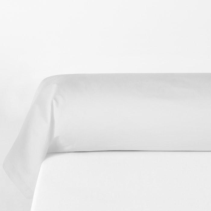 Federa per cuscino cilindrico in percalle di cotone biologico  La Redoute Interieurs image 0