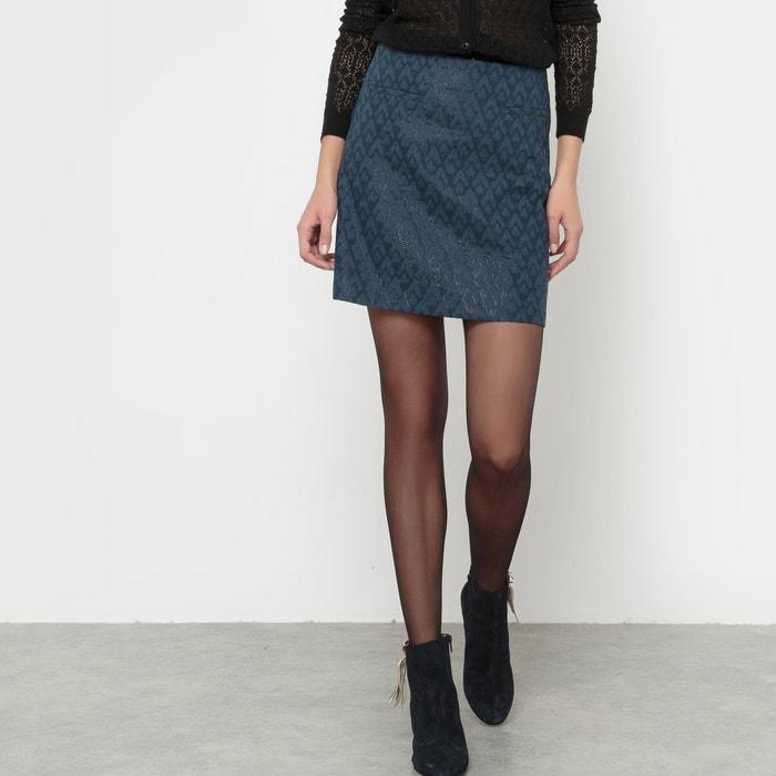 Image Jacquard Skirt with Metallic Fibre Detail MADEMOISELLE R