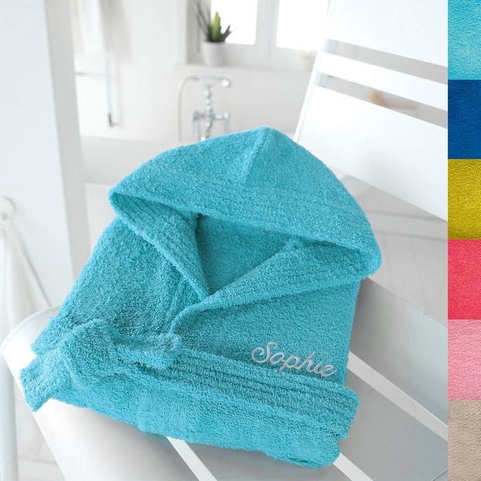 peignoir capuche pour enfant personnalisable 350 g scenario la redoute. Black Bedroom Furniture Sets. Home Design Ideas
