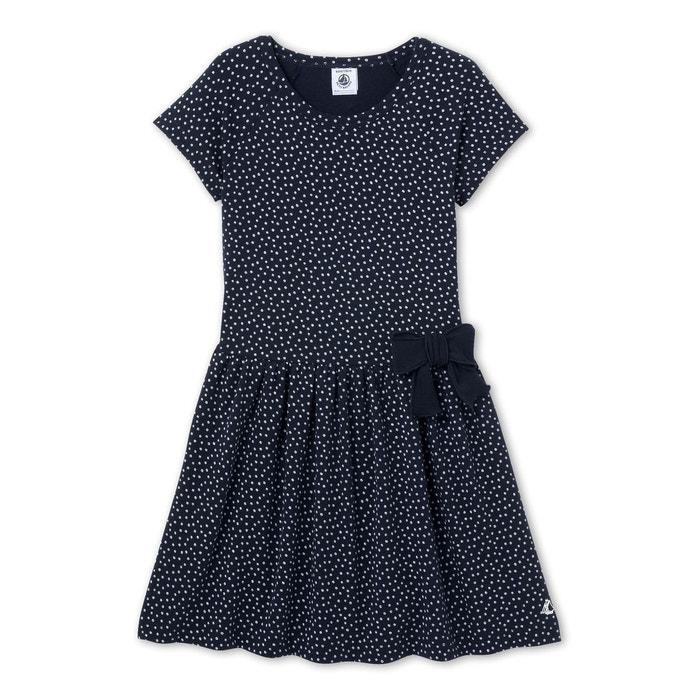 robe fille pois bleu petit bateau la redoute. Black Bedroom Furniture Sets. Home Design Ideas