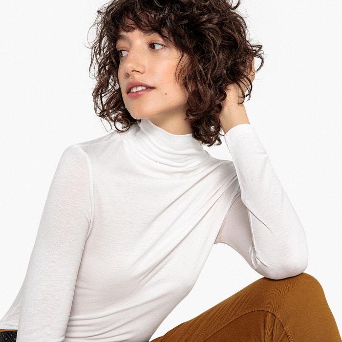T-shirt collo a dolcevita a maniche lunghe  La Redoute Collections image 0