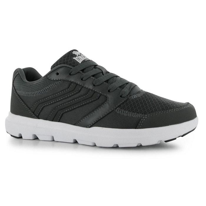 Chaussure à enfiler gris Lonsdale