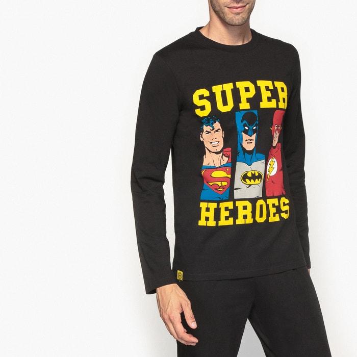 de 243;n DC Pijama 233;roes Superh COMICS algod AnIzq4