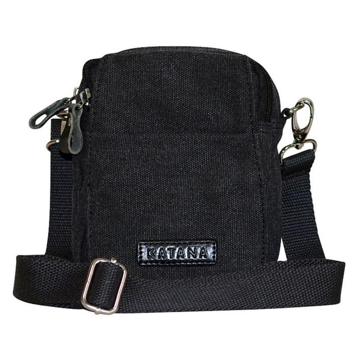 8ab596cf4c Petite sacoche bandouliere katana noir Chapeau-Tendance | La Redoute