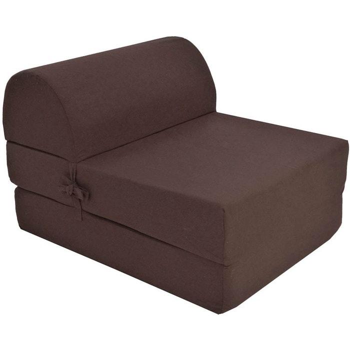 chauffeuse unie en coton jardindeco la redoute. Black Bedroom Furniture Sets. Home Design Ideas